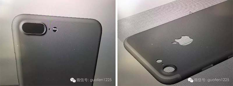 IPhone 7 Plus With Dual Lens Camera Left And Larger Right The 3D Renders Are Consistent Many Previous Leaks