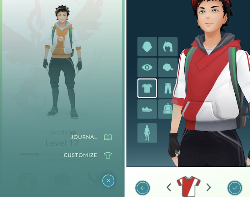 pokemon go update 1