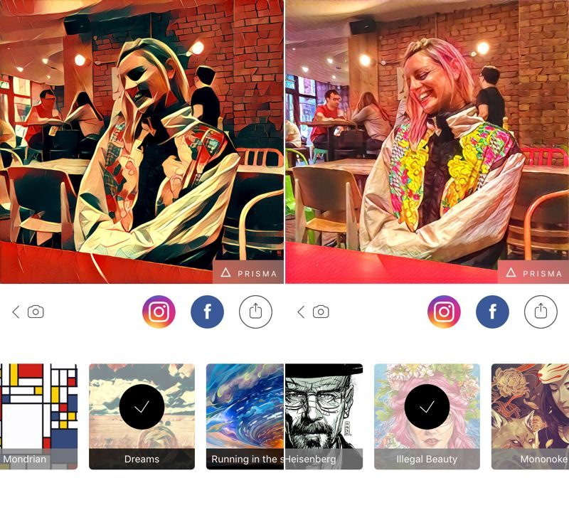 prisma app s art inspired photo filters take social media by storm