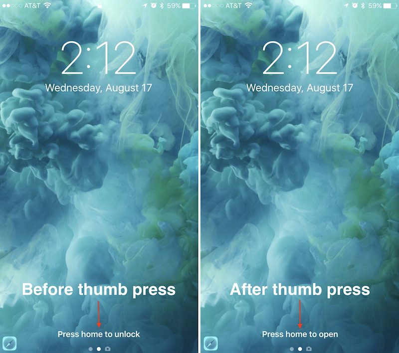 how to change iphone lock screen how to use ios 10 s redesigned lock screen mac rumors 1990
