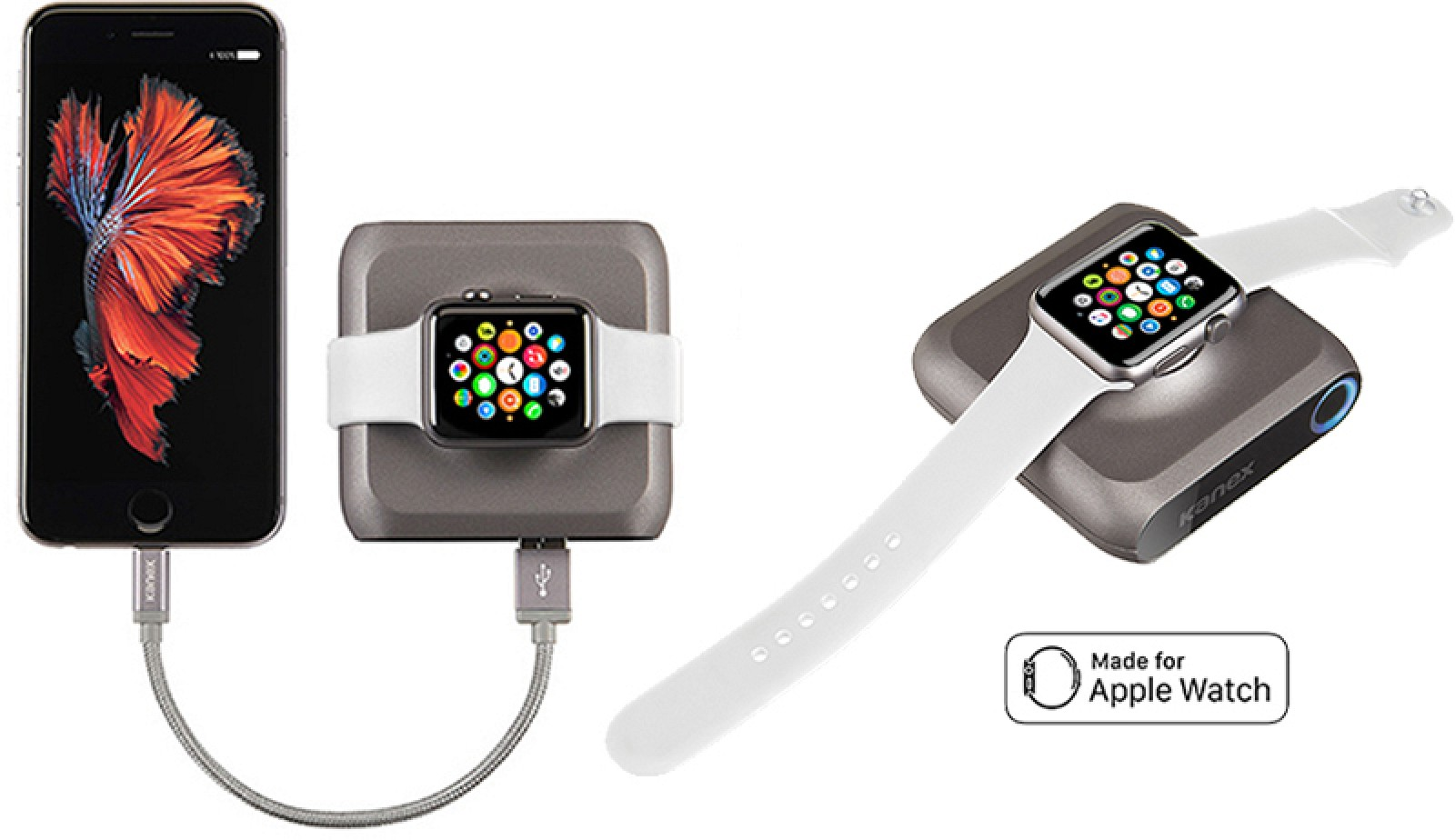 Kanex's 'GoPower Watch' Portable Battery for Apple Watch ...