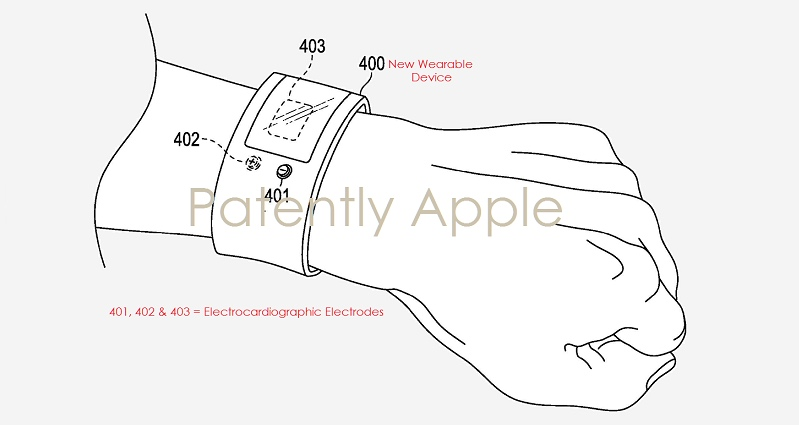 apple patent describes ecg-based heart health wearable