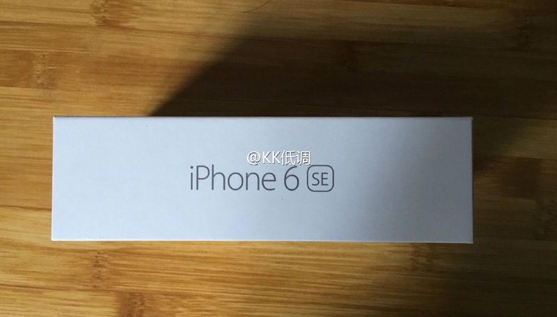 iPhone 6se package 1