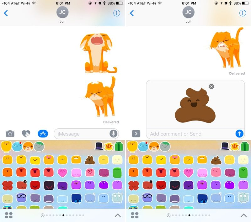 Messages in iOS 10: How to Install and Use Sticker Packs
