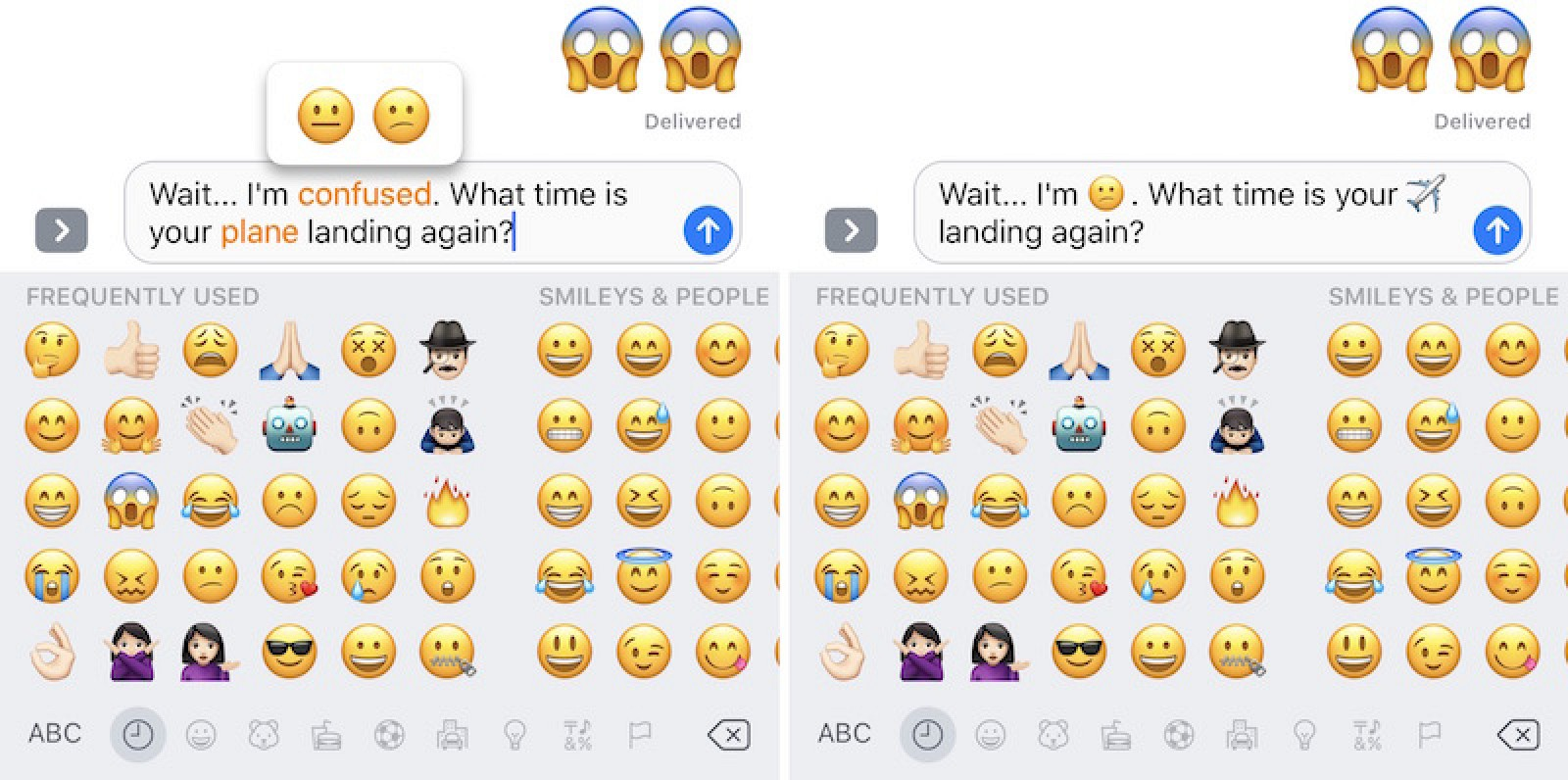 Messages in iOS 10: How to Use Emoji Replacement and Prediction