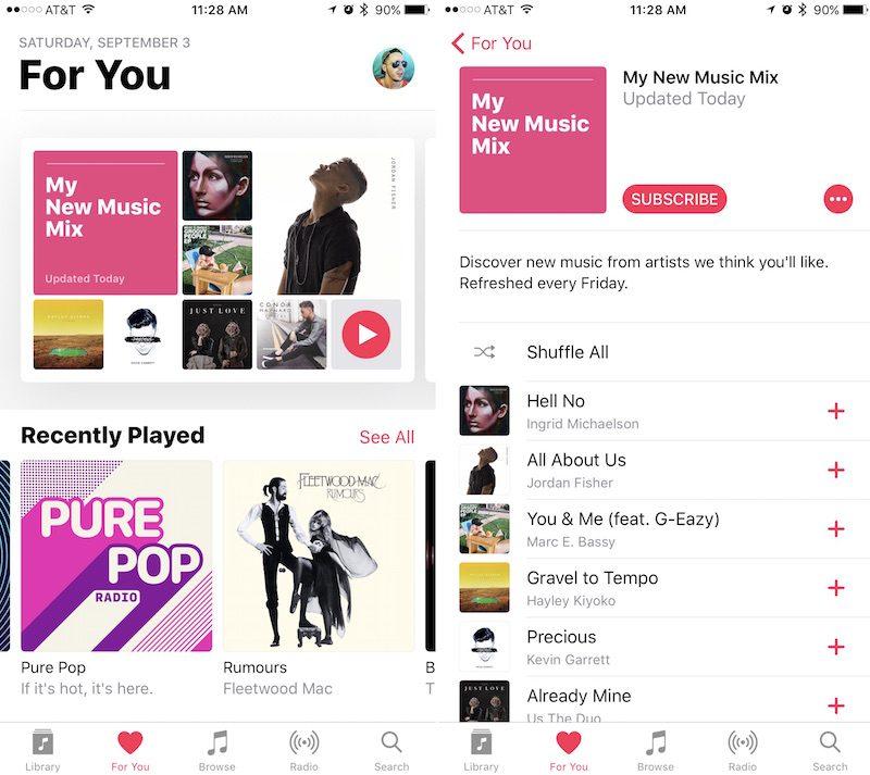 apple music update 2
