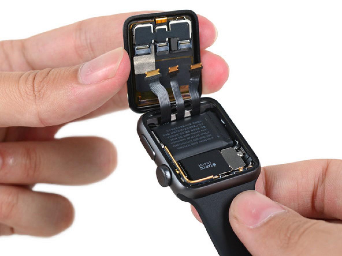 Apple Watch Series 2 Teardown Shows Larger Battery And Swimproof Baterai Iwatch 38mm Design Macrumors