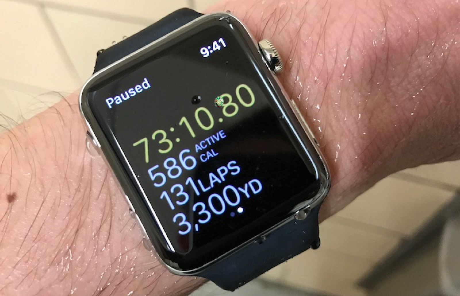 buy popular 9fac8 3b3b9 Apple Watch Series 2: A Swimmer's Perspective - MacRumors