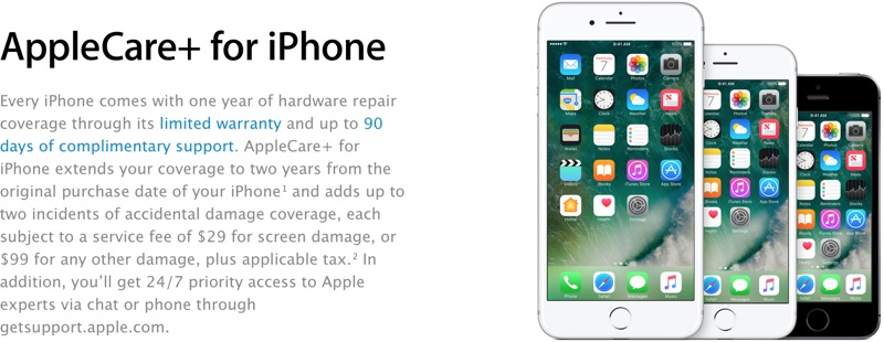 applecare for iphone 6 plus apple adds new 29 screen repair option to applecare for 8788