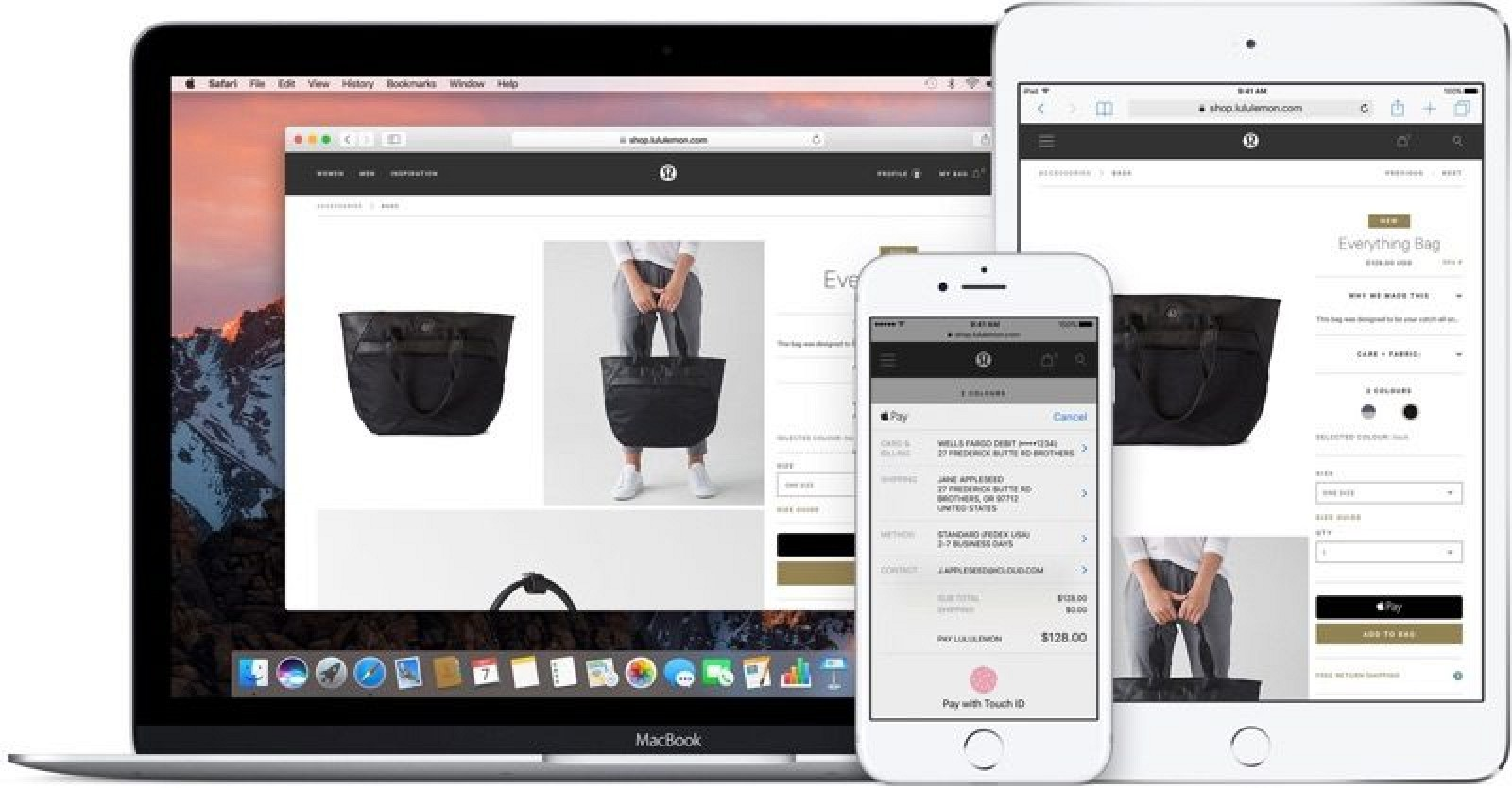 Apple Pay On The Web Starts Rolling Out Following IOS 10 Release
