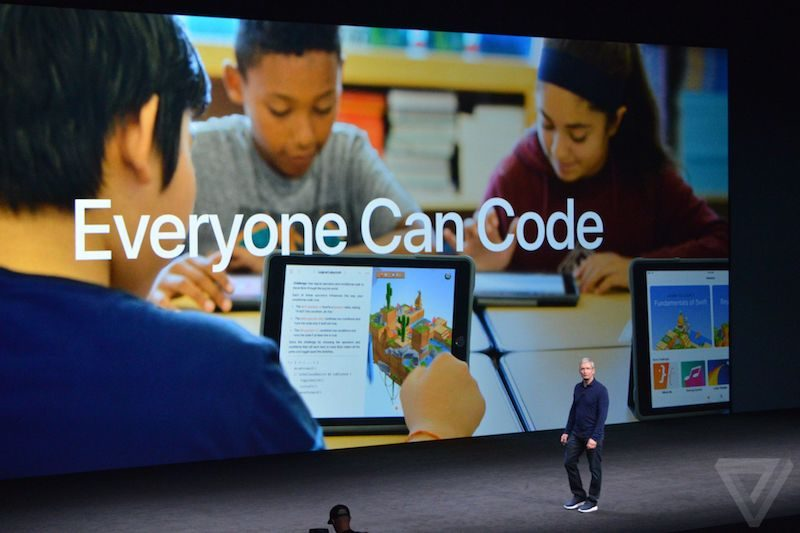 Apple Debuts 'Everyone Can Code' Program to Teach Kids Swift