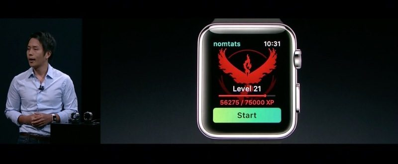 fa733317656 Apple and Niantic Labs today announced that an app for the popular Pokémon  Go iOS game is coming to Apple Watch.