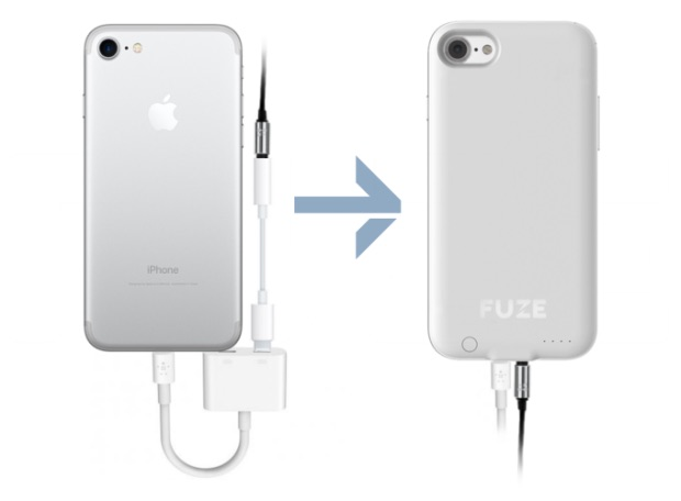best service 42f2a 0d905 Fuze' Case for iPhone 7 Aims to Bring Back the 3.5mm Headphone Jack ...