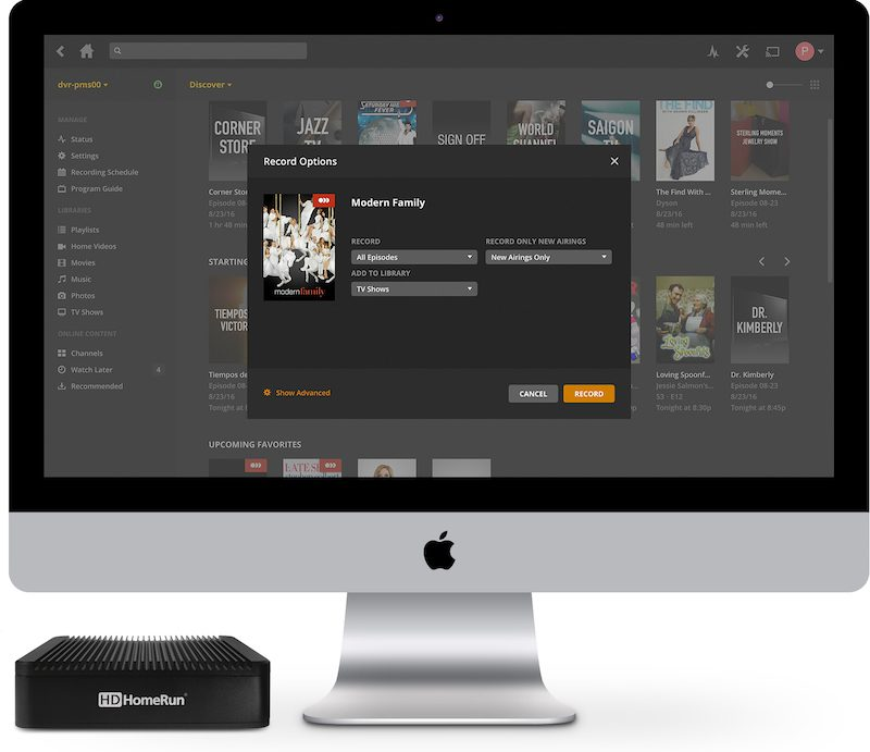 Plex Announces DVR Recording Feature for 'Plex Pass