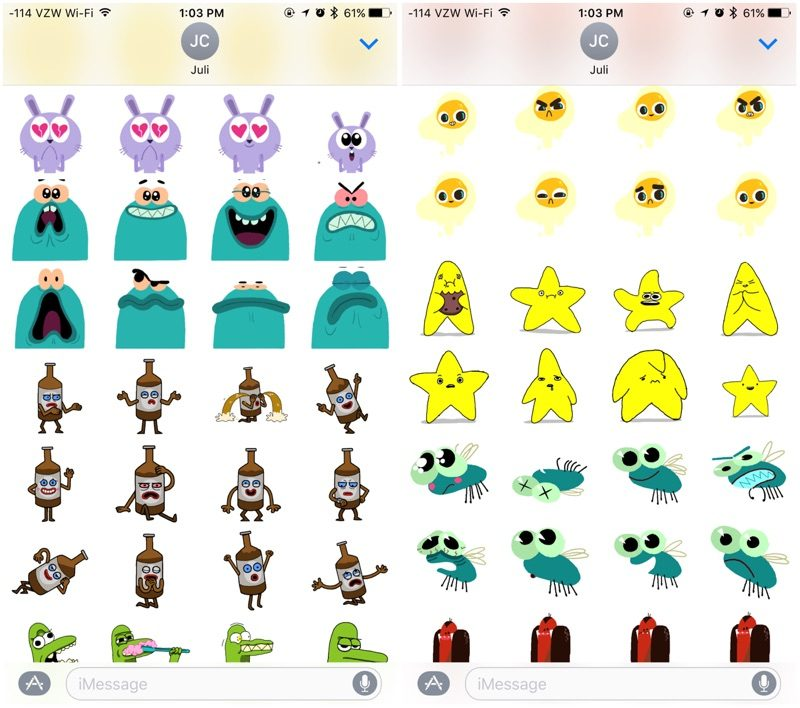 Must-Have Sticker Packs for Messages in iOS 10 - MacRumors