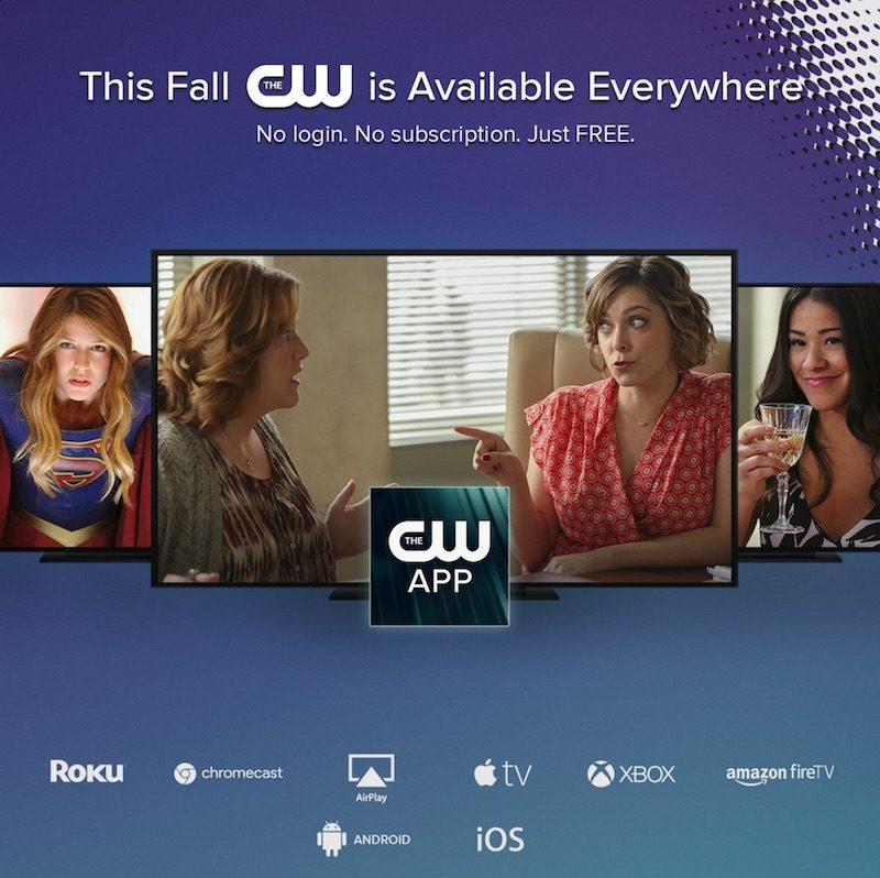 The CW's Apple TV App Coming Next Week With No Cable