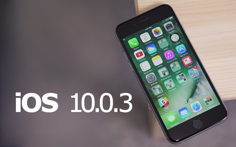 Apple Releases IOS 1003 For IPhone 7 With Cellular Connectivity