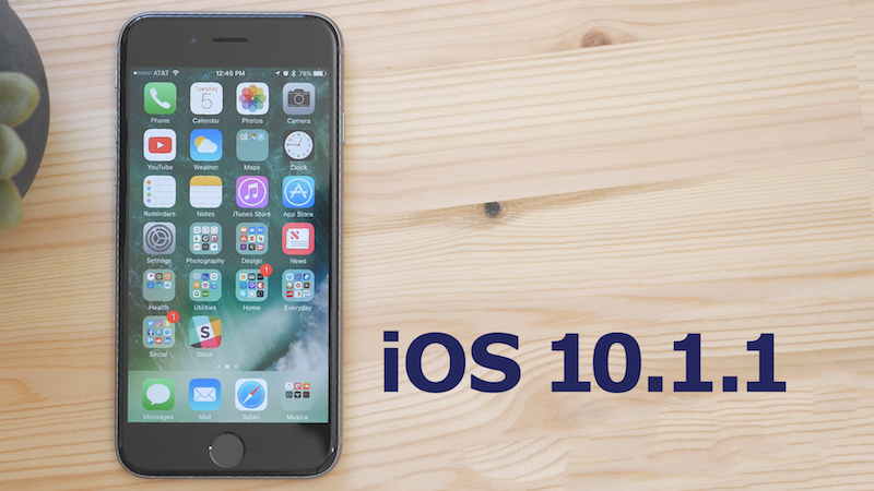 Apple Releases IOS 1011 To Address Bugs Related Missing