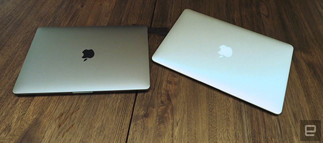 New Macbook Pros Don T Include Backlit Apple Logo Or Power
