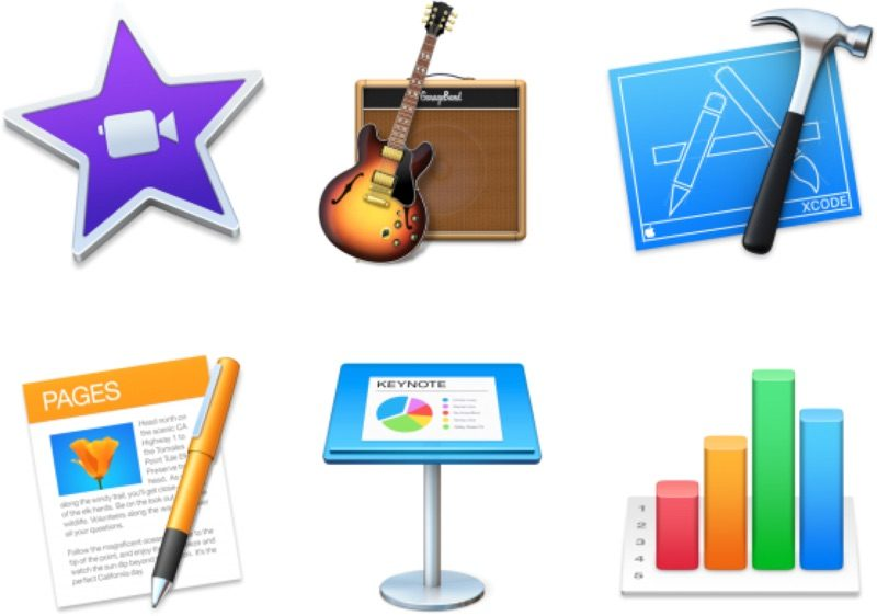 Apple Updates iMovie, GarageBand, Xcode and iWork Apps With
