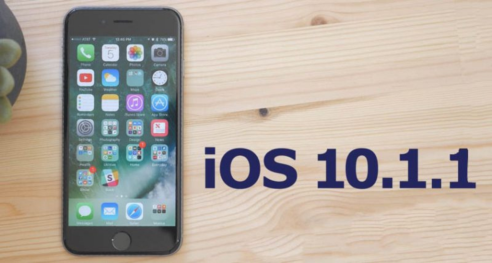 Apple Releases Updated Version of iOS 10.1.1