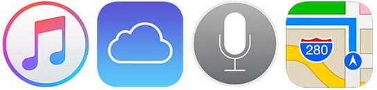 itunes-icloud-siri-apple-maps