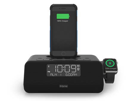 ihome launching first clock radio that can charge both an iphone and apple watch mac rumors. Black Bedroom Furniture Sets. Home Design Ideas