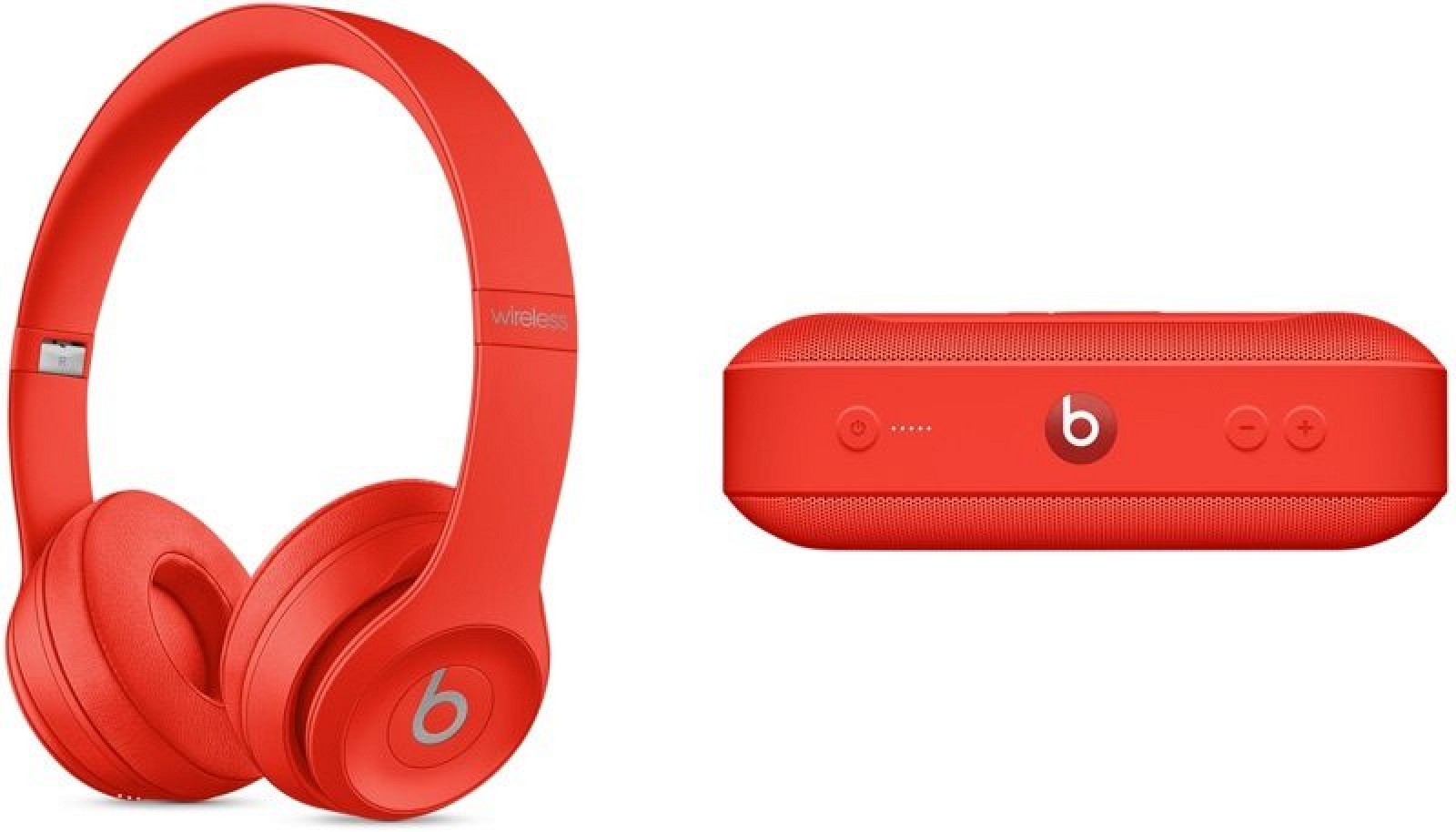 Apple Debuts (PRODUCT)RED Solo3 Wireless Headphones and Beats Pill+ Speaker 2f2ac640a5ea