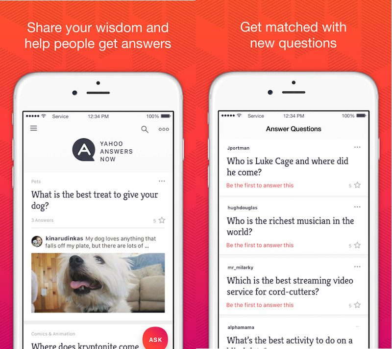 Yahoo answers comes to ios with new app mac rumors the app allows yahoo answers users to post and answer questions on the go theyll also be able to more easily craft rich media responses to questions and ccuart Gallery