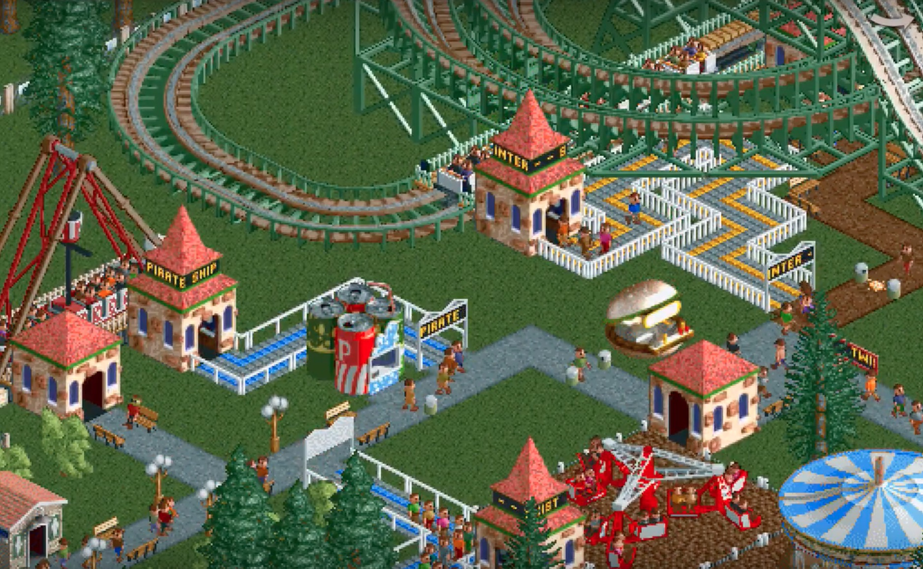 Atari Releases 'RollerCoaster Tycoon Classic' for iOS - MacRumors