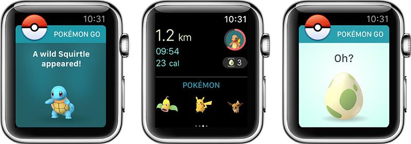 c04de5b3500 Pokémon GO for Apple Watch Now Available on App Store - MacRumors