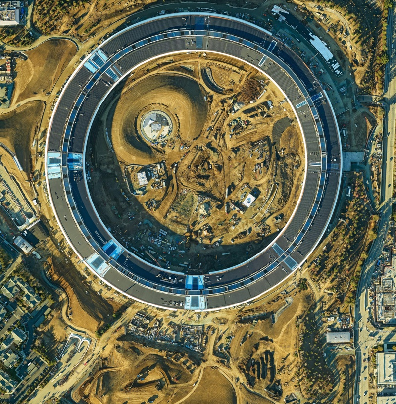 Heres A Detailed Aerial Photograph Of Apple Campus 2