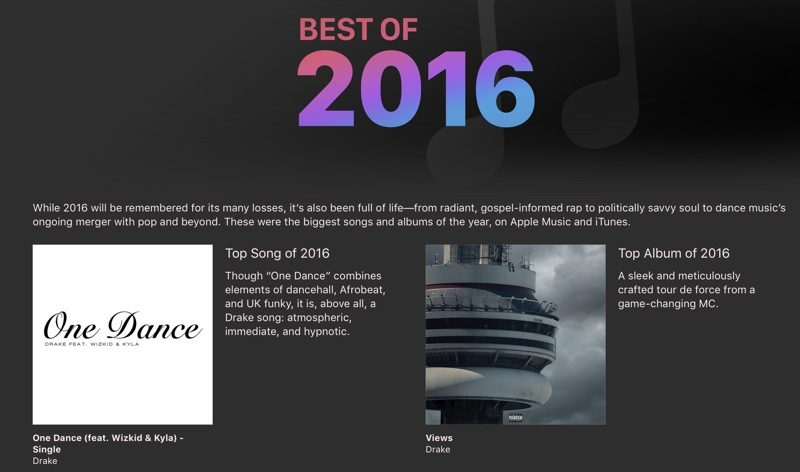 Apple Names Best Music, Movies, TV Shows, Podcasts, and
