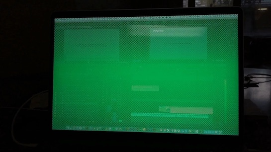 By Photo Congress || Green Lines On Macbook Pro Screen