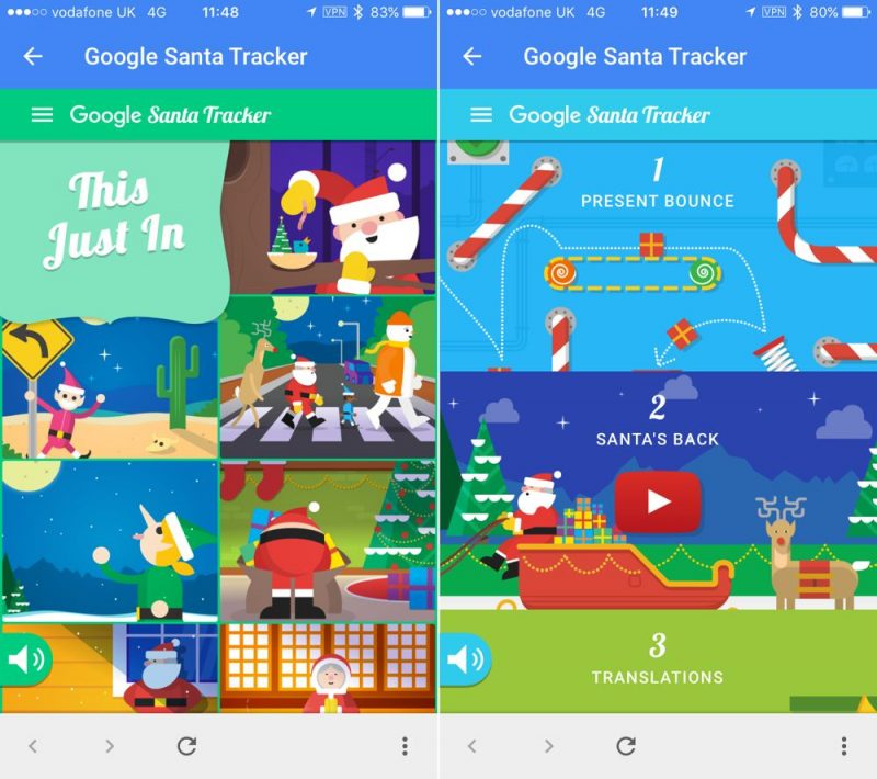 Google Maps Santa Tracker Goes Live on iOS - MacRumors on solvang ca map, california missions map, north county california map, sports map, downtown solvang map, county plat map, watercolor resort map, pleasanton california map, last chance canyon trail map, jefferson new hampshire map, north pole map, bunny map, paul map, mermaid map, baseball map, monterey ca map, jesus map, historic philadelphia map, solvang wineries map, police map,