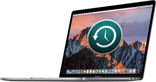 time machine to new mac