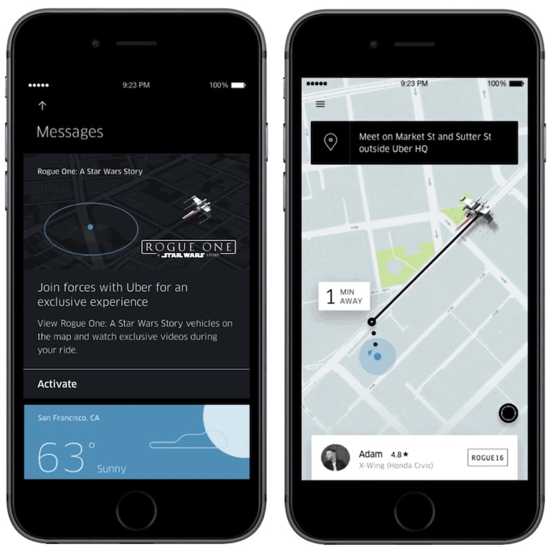 how to use the new uber app