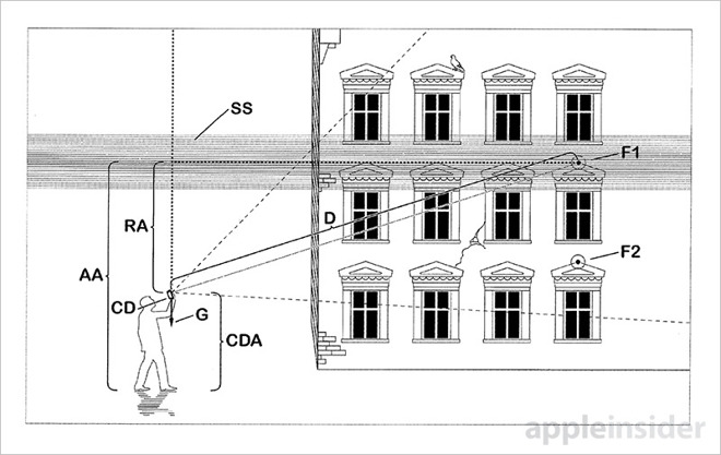 Apple AR patent