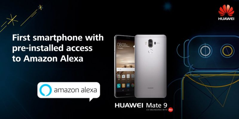 Alexa on Huawei phone