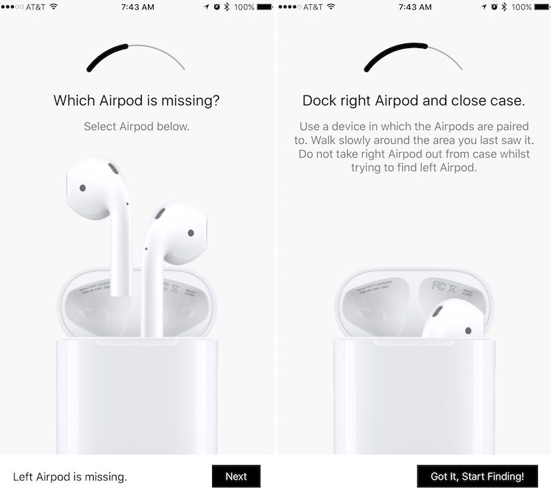 new style 579c9 5fb3a Finder for AirPods' App Can Help You Track Down a Missing AirPod ...