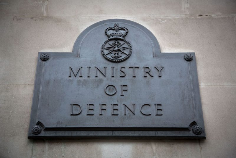 uk ministry of defense