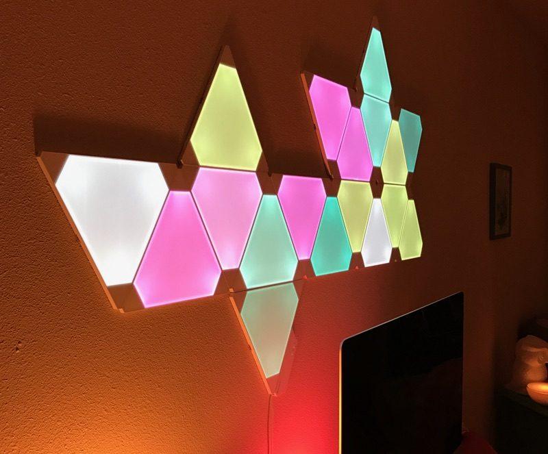 Nanoleaf Aurora Light Panels Review Macrumors