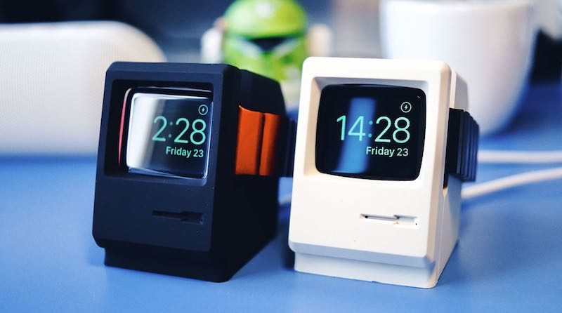 Elago's W3 Charging Stand Turns Your Apple Watch Into the Original ...