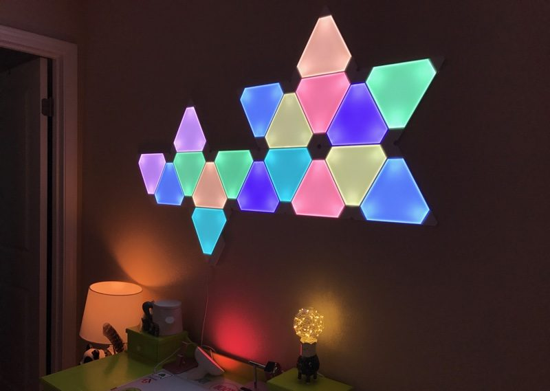Nanoleaf Aurora Light Panels Review Macrumors