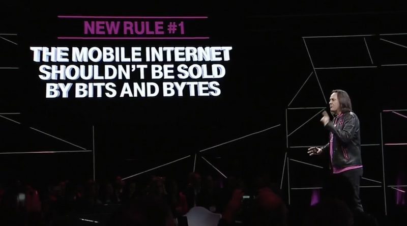 T-Mobile to Simplify Phone Bills With Single Unlimited Data Plan and