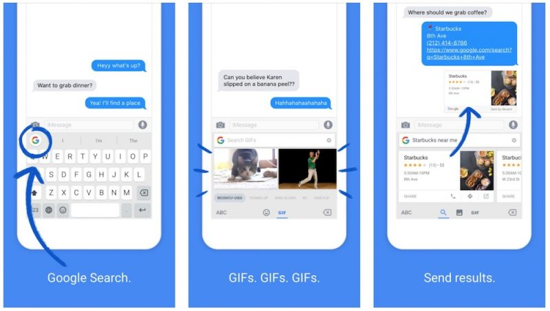 Gboard Update Brings Google Doodle, Voice Typing, iOS 10