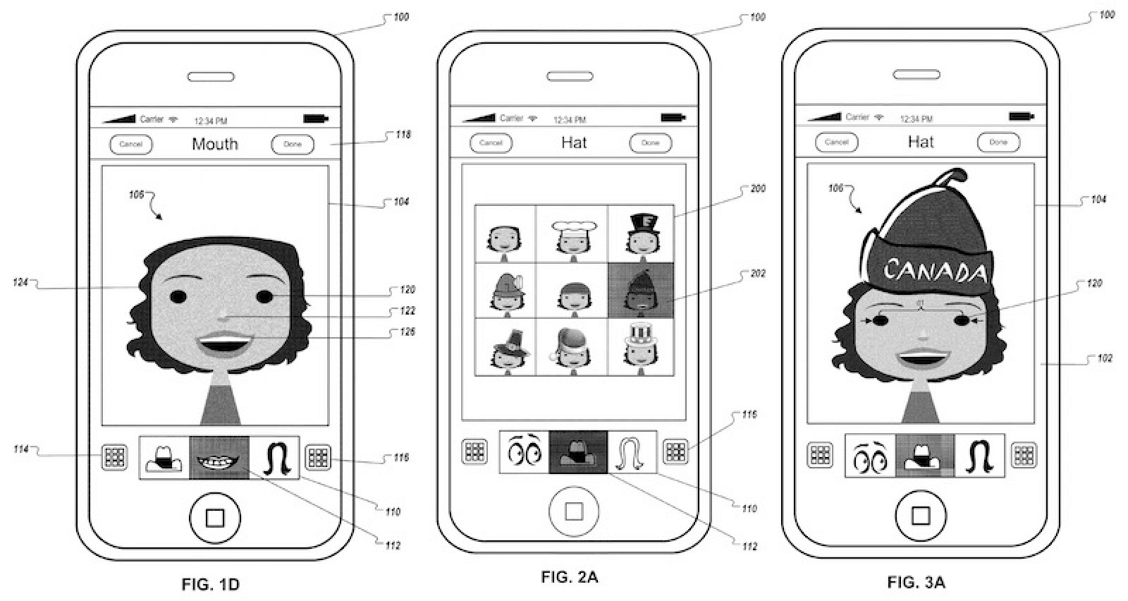 Apple Patents Avatar Creation App That Can Place Digital