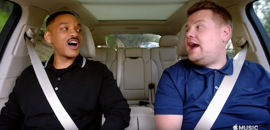 Image result for TV Review: 'Carpool Karaoke' on Apple Music
