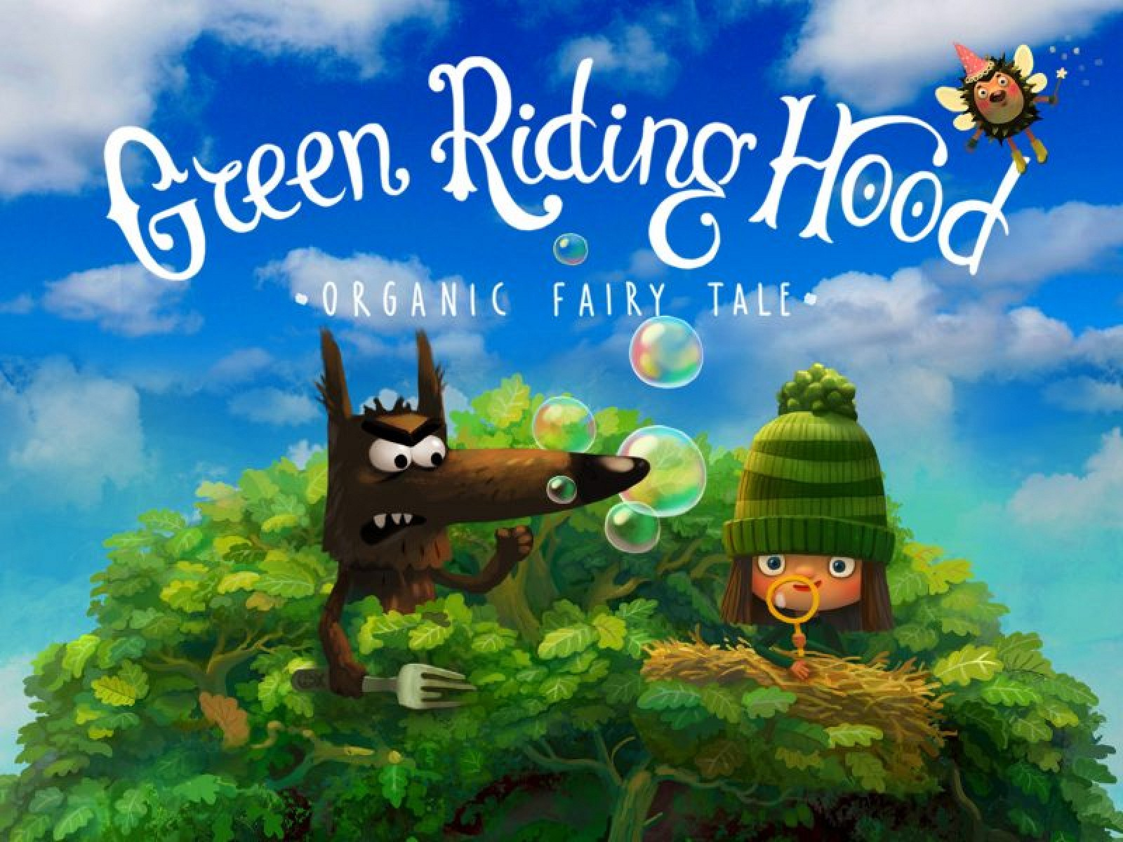 Children's Organic Storybook 'Green Riding Hood' is Apple's Free App of the Week