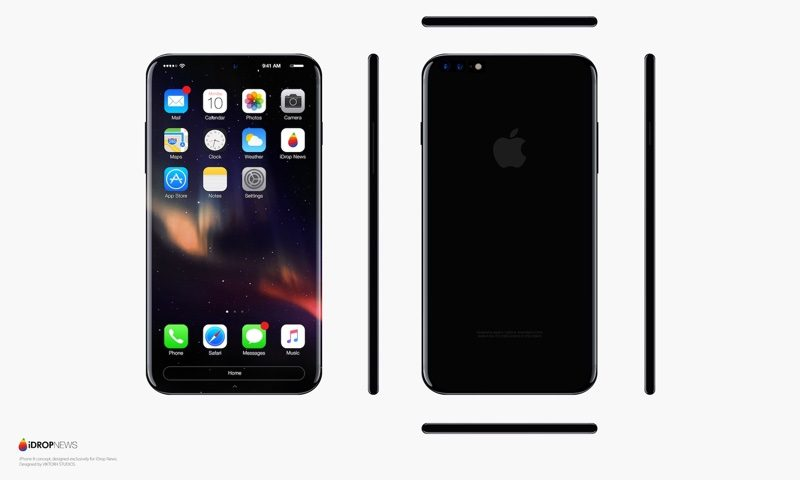 Roundup A Look At Various IPhone 8 Concepts And Mockups